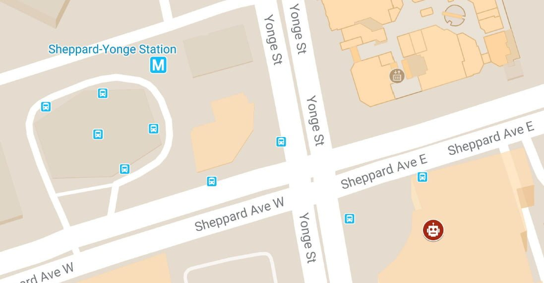 Location Bus Map