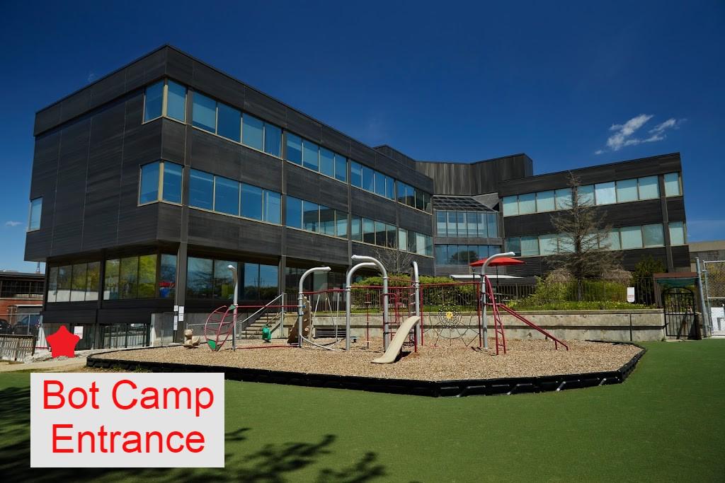 Giles School Bot Camp Entrance