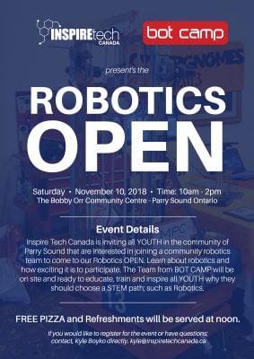 INSPIREtech Robotics Open