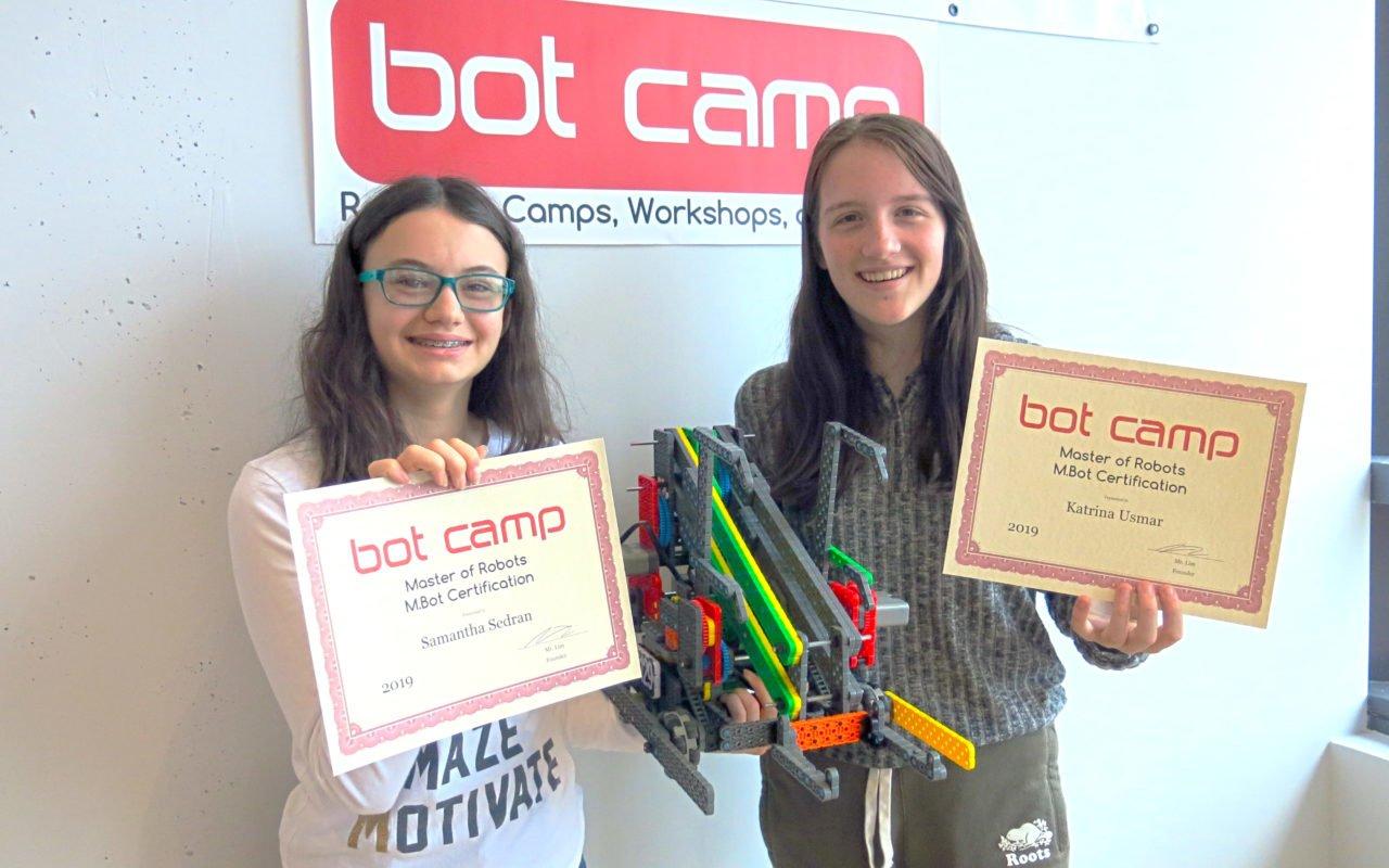 SK Creations - M.Bot Certification Recipients