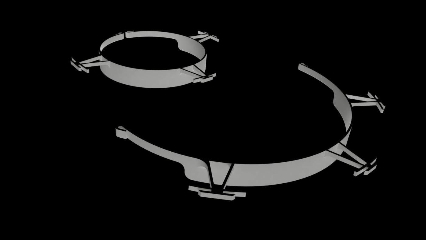 3D Printable COVID-19 Visor v17