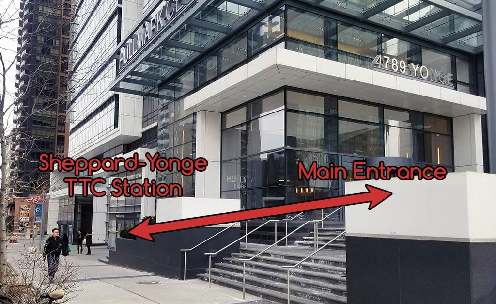 Location Subway Entrance